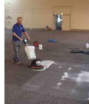 Commercial Customer Carpet Cleaning